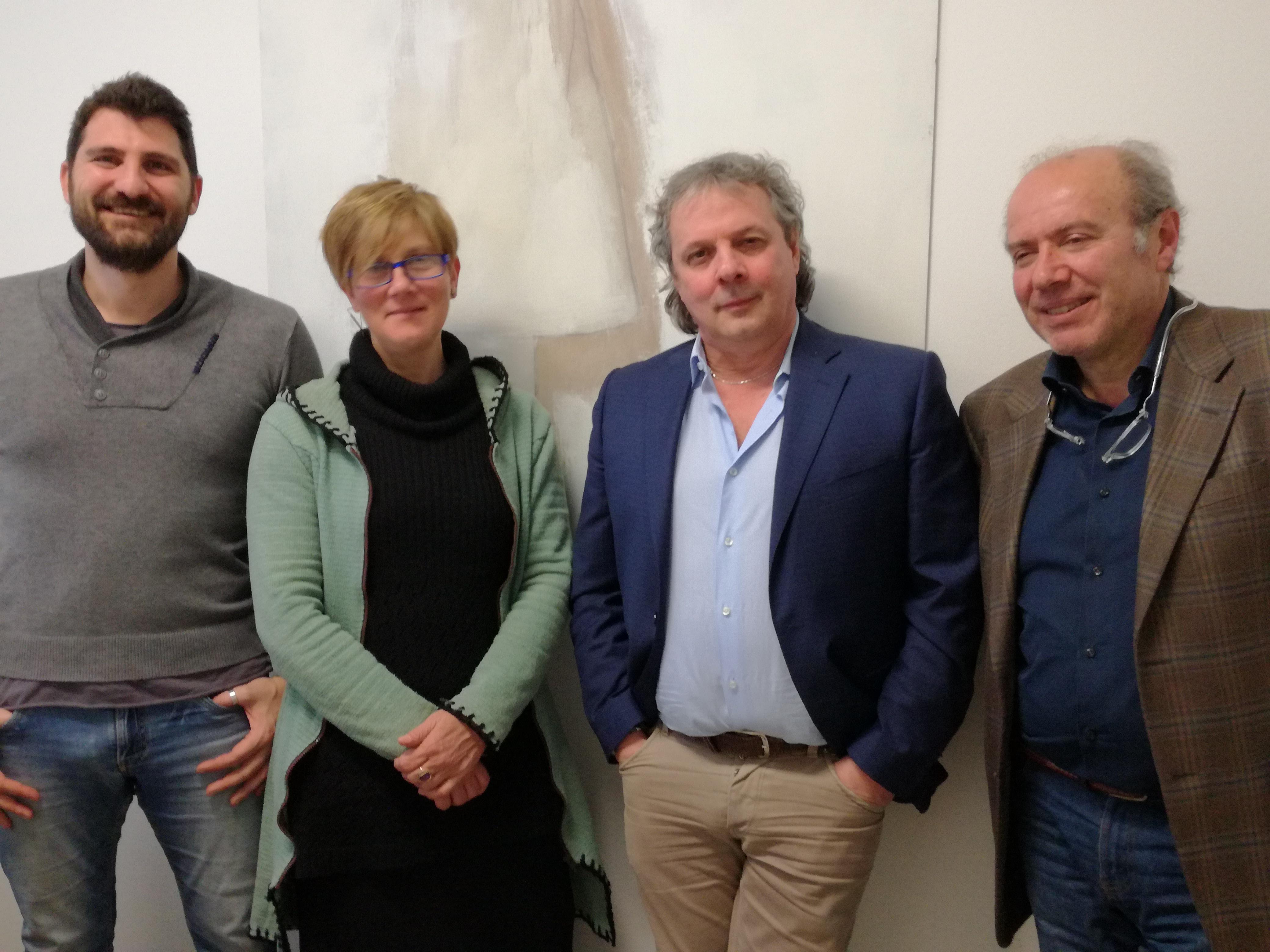 Die Arbeitsgruppe der italienischen Gemeinde Mogliano Veneto (TV)